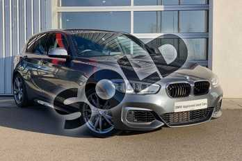 BMW 1 Series M140i 5-door in Mineral Grey at Listers King's Lynn (BMW)