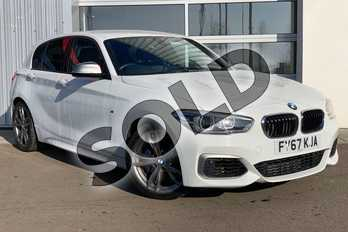 BMW 1 Series M140i 5dr (Nav) in Alpine White at Listers King's Lynn (BMW)