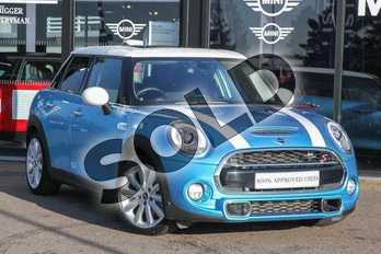 MINI Hatchback 2.0 Cooper S D 5dr Auto in Electric Blue at Listers Boston (MINI)