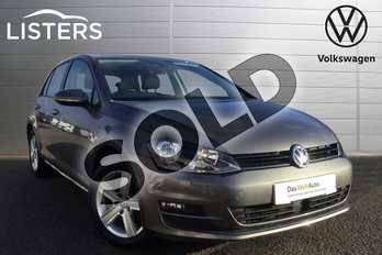 Volkswagen Golf 1.4 TSI 125 Match Edition 5dr in Limestone Grey at Listers Volkswagen Loughborough