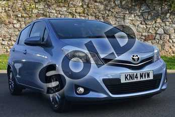Toyota Yaris 1.33 VVT-i Icon+ 5dr in Blue at Listers Toyota Nuneaton