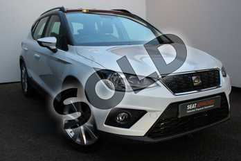 SEAT Arona 1.0 TSI 115 SE Technology (EZ) 5dr DSG in White at Listers SEAT Worcester