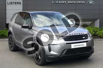 Land Rover Discovery Sport 2.0 D180 S 5dr Auto in Eiger Grey at Listers Land Rover Droitwich