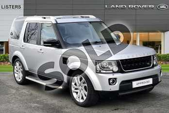 Land Rover Discovery 3.0 SDV6 Landmark Edition 5dr Auto in Indus Silver at Listers Land Rover Hereford