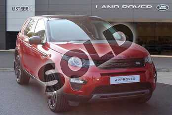 Land Rover Discovery Sport 2.0 TD4 180 HSE Black 5dr Auto in Firenze Red at Listers Land Rover Hereford