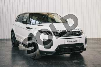 Range Rover Evoque 2.0 TD4 HSE Dynamic 3dr Auto in Yulong White at Listers Land Rover Solihull