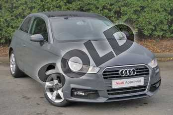 Audi A1 1.4 TFSI Sport 3dr S Tronic in Nano Grey Metallic at Worcester Audi