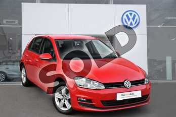 Volkswagen Golf 1.4 TSI 125 Match Edition 5dr in Tornado Red at Listers Volkswagen Evesham
