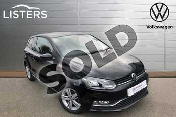 Volkswagen Polo 1.0 75 Match Edition 3dr in Deep Black at Listers Volkswagen Worcester