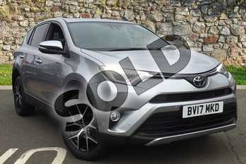 Toyota RAV4 2.0 V-Matic Icon TSS 5dr CVT in Tyrol Silver at Listers Toyota Coventry
