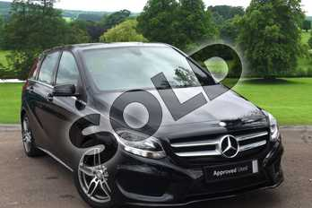 Mercedes-Benz B Class B220d AMG Line 5dr Auto in Cosmos black metallic at Mercedes-Benz of Grimsby