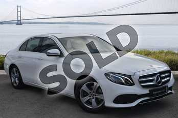 Mercedes-Benz E Class E220d SE 4dr 9G-Tronic in Polar White at Mercedes-Benz of Grimsby