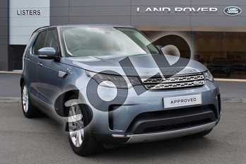 Land Rover Discovery 2.0 SD4 HSE 5dr Auto in Byron Blue at Listers Land Rover Droitwich