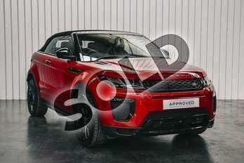 Range Rover Evoque 2.0 SD4 HSE Dynamic Lux 2dr Auto in Firenze Red at Listers Land Rover Hereford