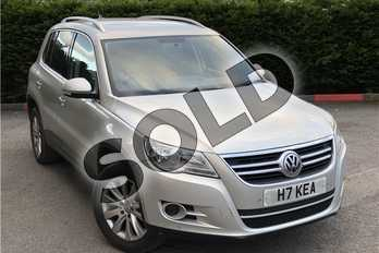 Volkswagen Tiguan 2.0 TSI Match 5dr in Metallic - Reflex silver at Listers U Boston