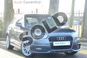 Audi A1 1.4 TFSI S Line 3dr in Daytona Grey Pearlescent at Coventry Audi