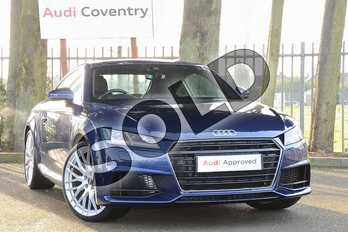 Audi TT 2.0T FSI S Line 2dr in Scuba Blue Metallic at Coventry Audi