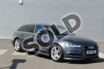 Audi A6 2.0 TDI Ultra S Line 5dr S Tronic in Daytona Grey Pearlescent at Coventry Audi