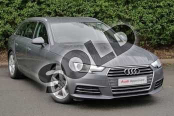 Audi A4 2.0 TDI Ultra Sport 5dr in Monsoon Grey Metallic at Worcester Audi
