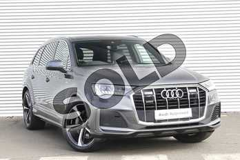 Audi Q7 50 TDI Quattro S Line 5dr Tiptronic in Daytona Grey Pearlescent at Worcester Audi