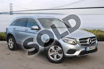 Mercedes-Benz GLC GLC 250d 4Matic Sport 5dr 9G-Tronic in Diamond Silver Metallic at Mercedes-Benz of Hull