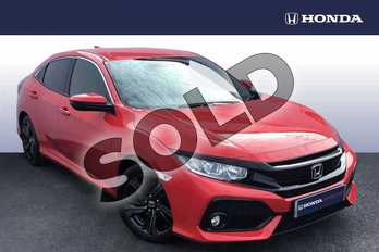 Honda Civic 1.6 i-DTEC SR 5dr in Rallye Red at Listers Honda Coventry