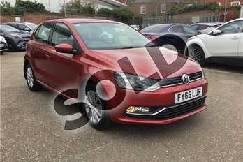 Volkswagen Polo 1.0 SE 5dr in Signature paint - Flash red at Listers Toyota Boston