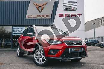 SEAT Arona 1.5 TSI EVO FR (EZ) 5dr in Red at Listers SEAT Coventry