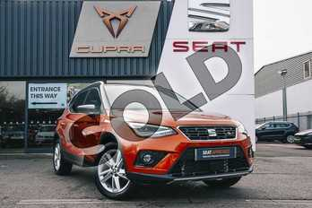SEAT Arona 1.5 TSI EVO FR (EZ) 5dr in Orange at Listers SEAT Coventry
