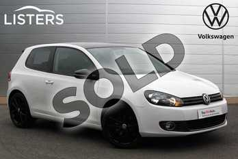 Volkswagen Golf 2.0 TDI 140 GT 3dr in Candy White at Listers Volkswagen Nuneaton