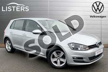 Volkswagen Golf 1.4 TSI Match 5dr in Reflex silver at Listers Volkswagen Stratford-upon-Avon