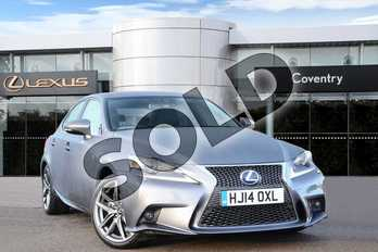 Lexus IS 300h F-Sport 4dr CVT Auto in Mercury Grey at Lexus Coventry