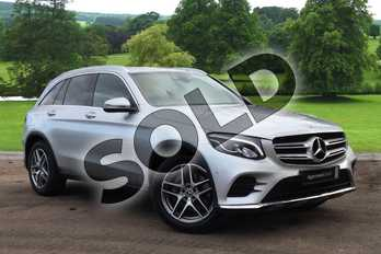Mercedes-Benz GLC GLC 220d 4Matic AMG Line 5dr 9G-Tronic in Iridium Silver Metallic at Mercedes-Benz of Grimsby