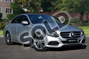 Mercedes-Benz C Class C220d Sport Premium 4dr 9G-Tronic in Iridium Silver Metallic at Mercedes-Benz of Lincoln