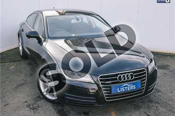 Audi A7 3.0 TDI Quattro SE 5dr Tip Auto (5 Seat) in Pearl - Phantom black at Listers U Solihull