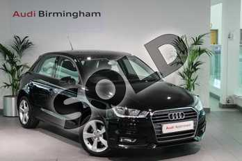 Audi A1 1.4 TFSI Sport Nav 5dr in Brilliant Black at Birmingham Audi