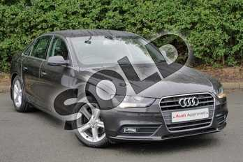 Audi A4 2.0 TDIe SE Technik 4dr in Lava Grey, pearl effect at Worcester Audi