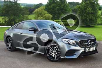 Mercedes-Benz E Class E220d 4Matic AMG Line Premium Plus 2dr 9G-Tronic in Selenite Grey metallic at Mercedes-Benz of Grimsby