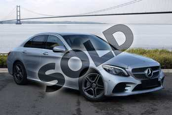 Mercedes-Benz C Class C220d AMG Line Premium 4dr 9G-Tronic in iridium silver metallic at Mercedes-Benz of Hull