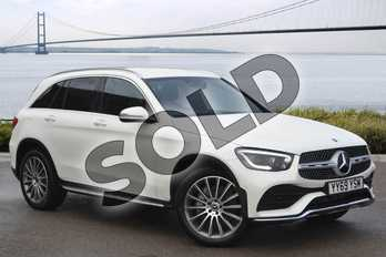 Mercedes-Benz GLC GLC 300 4Matic AMG Line Premium 5dr 9G-Tronic in designo diamond white bright at Mercedes-Benz of Hull