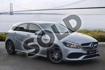 Mercedes-Benz A Class A200d AMG Line 5dr Auto in Polar Silver at Mercedes-Benz of Hull
