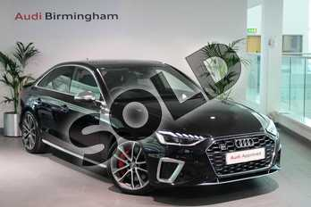 Audi A4 S4 TDI Quattro 4dr Tiptronic in Myth Black Metallic at Birmingham Audi