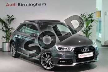 Audi A1 1.4 TFSI 150 Black Edition 3dr in Daytona Grey Pearlescent at Birmingham Audi