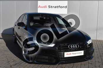 Audi A6 2.0 TDI Ultra Black Edition 4dr S Tronic in Mythos Black, metallic at Stratford Audi