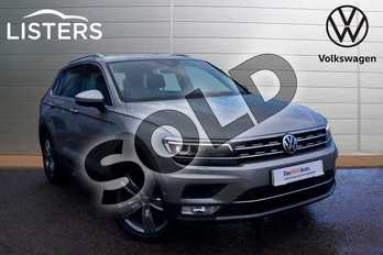 Volkswagen Tiguan 2.0 TSI 180 4Motion SEL 5dr DSG in Tungsten Silver at Listers Volkswagen Loughborough