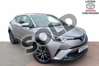 Toyota C-HR 1.8 Hybrid Excel 5dr CVT (Leather) in Metal Stream at Listers Toyota Cheltenham