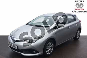 Toyota Auris 1.8 Hybrid Icon 5dr CVT in Tyrol Silver at Listers Toyota Cheltenham