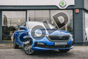 Skoda Scala 1.0 TSI SE L 5dr in Race Blue at Listers ŠKODA Coventry
