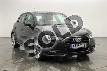 Audi A1 1.4 TFSI 150 S Line 5dr in Brilliant Black at Birmingham Audi