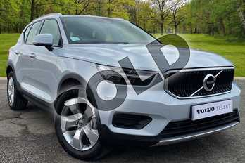 Volvo XC40 2.0 D3 Momentum 5dr in Glacier Silver at Listers Volvo Worcester